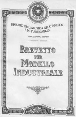 brevetto modello industriale