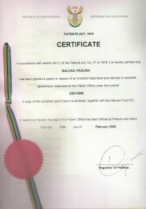 brevetto Africano